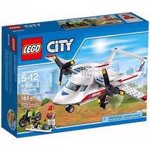 Lego City 60116 Avião- Ambulância Com 183 Peças