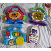 Lote Contendo Brinquedos Bebês - Fisher Price