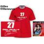Remeras Formula 1 Gilles Villeneuve, Schumacher Ferrari