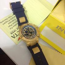 Relógio Invicta Subaqua Skeleton Original Leilão