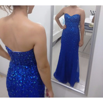 Vestido De Formatura - Perfeito - Azul Royal