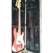 Baixo Fender Precision Special Americano Com Case Gator