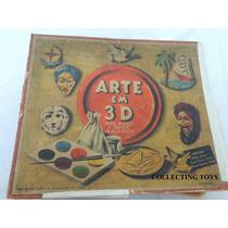 Brinquedo Antigo - Arte Em 3d - Estrela - Anos 50 - Pintura