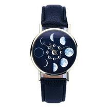 Relógio Feminino Fases Da Lua - Importado