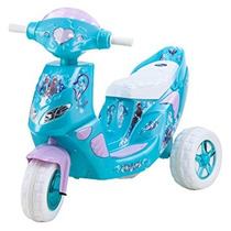 Juguete Kid Trax Congelados Luces Parpadeantes Scooter 6v D