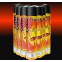 Tinta Spray Preto Fosco Alta Temperatura Chemicolor 400ml