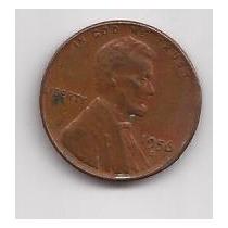Estados Unidos Moneda 1 Cent Año 1956 D !!!