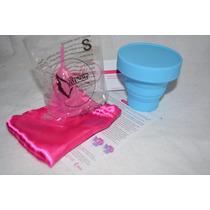 Copa Menstrual Y Vaso Esterilizador Copa Menstrual Silicon