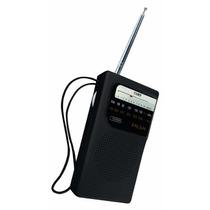 Radio Portatil Coby Am/fm Analogico Cr-203 Correa Audifonos