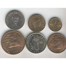 Serie De 6 Monedas De Mexico Sin Circular 1963 A 1969