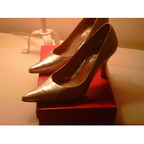 Zapatos Stilletto Saverio Di Ricci Plateados