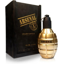 Perfume Arsenal Gold Edp Masculino Gilles Cantuel - 100ml