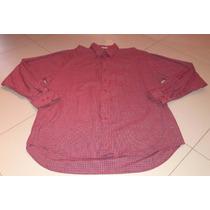 Camisa Social Xadrez M/l Vermelho -colombo New Collection