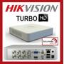 Dvr De 8 Ch Hikvision Turbo Hd Ds-7108hghi-f1 P2p Hd-tvi