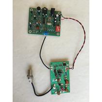 Placa Pll + Aplificador De 2,5w - Transmissor De Fm
