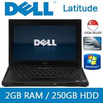 Mini Dell Latitude 2120 1.86/2gbddr3 / 320gb Rd$ 5499