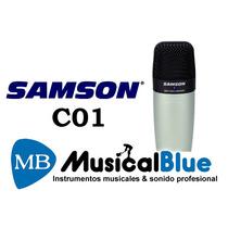 Samson C01 Microfono De Estudio Condenser Con Estuche Rigido