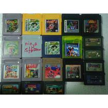 Vários Jogos De Game Boy Gy Frete Só 8,00