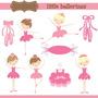 Kit Imprimible Bailarina Ballet 2 Imagenes Clipart