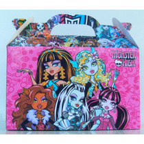 Bolsita Valijita 30 De Monster High + 30 De Spider Man