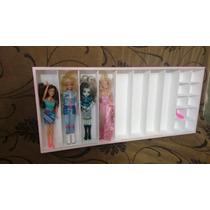 Nicho Estante Expositor Para Bonecas Barbie Ou Similar