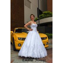 Vestido De Noiva | Princesa | Sobmedida | Renda Fio Prata