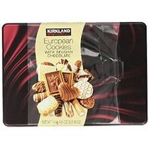 Kirkland Signature Cookies Europeos Con Chocolate Belga 49,4