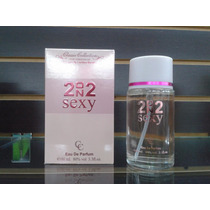 2on2 Sexy100cc Perfume Para Dama Versíon 212 Sexy Classic
