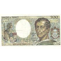 Billete Francia 200 Francos Año 1981/94 Muy Bueno