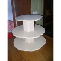Torre Para Cupcakes ,muffins De Fibrofacil