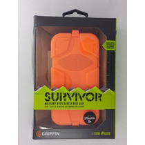 Funda Protector Griffin Survivor Iphone 6s 6 Se Original