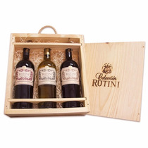 Cofre Triple Rutini Coleccion S.b.- Mc - C.malbec - 3x750ml.