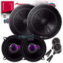 Kit Alto Falante Vectra Auto 2 Vias Pioneer + Mini Tweeter