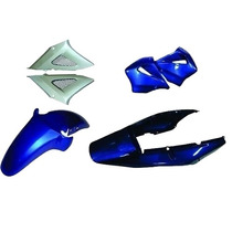 Carenagem Cbx 250 Twister Azul 2004 Kit Completo