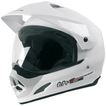 Capacete Top Helmet C Vis Th1 56 Bco Pro Atc 92644