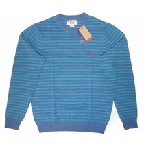 Chaleco / Sweater Hombre Rayas Penguin Talla M