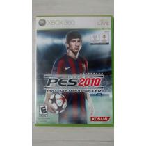 Pes 2010 Original Xbox 360 Raríssimo