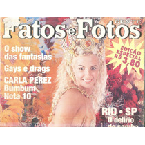 Fatos E Fotos 1997 - Carnaval / Globeleza / Perez / Close