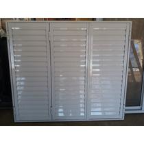 Postigon De Aluminio 150 X 150 3 Hojas