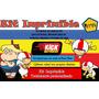 Kit Imprimible Doble De Riesgo, Fiesta,invitación,tarjetas