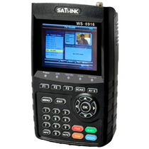Localizador Satelite Satlink Ws-6916 Hd Novo Na Caixa