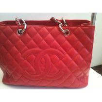 Bolsa Feminina Inspired Shopper Vermelha Couro Sintetico