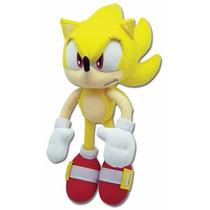 Pelúcia Do Sonic Hedgehog Super Sonic 35cm * Pronta Entrega*