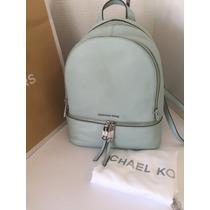 Bolsa Michael Kors Mk Back Pack Mochila Original