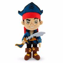 Capitão Jake E Os Piratas Da Terra Do Nunca Pelúcia Disney