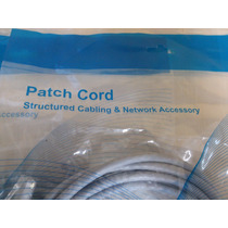 Patch Cord Cat 6 Marca Net 3mts