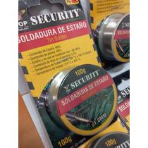 Estaño Para Soldar 60/40 De 100gm Largo Flux 2.5% Security