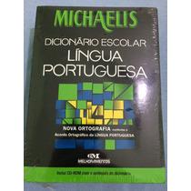 Dicionário Michaelis Língua Portuguesa Nova Ortografia Cd