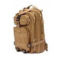 Mochila Tactica Tipo Militar Backpack Color Cafe
