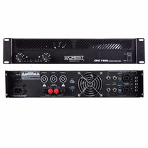 Crest Cpx1500 W Potencia Amplificador Dj Bandas Envios
